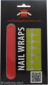 Bad Apple Nail Wraps Confezione Regalo 16 Adesivi per Unghie + Lima - Lady In Green
