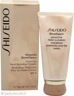 Shiseido Benefiance Rivitalizzante Protettivo per le Mani SPF8 75ml