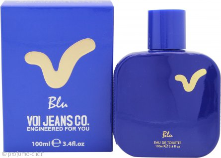 Voi Jeans Blu Eau de Toilette 100ml Spray