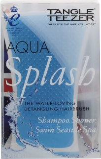 Tangle Teezer Aqua Splash Detangling Spazzola per Capelli - Blue Lagoon
