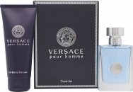 Versace New Homme Confezione Regalo 50ml EDT + 100ml Shampoo & Bagnoschiuma