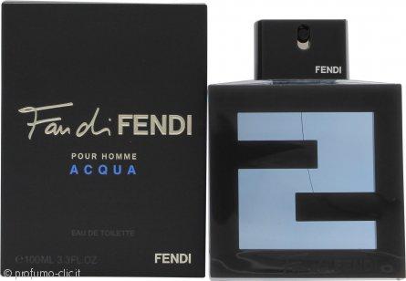 Fendi Fan di Fendi Pour Homme Acqua Eau de Toilette 100ml Spray