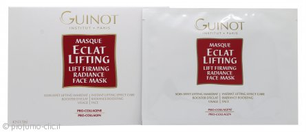 Guinot Masque Eclat Lifting Lift Firming Radiance Maschera Viso 4 x 19ml
