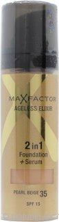 Max Factor Ageless Elixir 2 in 1 Fondotinta + Siero 30ml - Pearl Beige