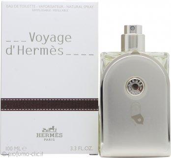 Hermes Voyage d'Hermes Eau de Toilette 100ml Spray - Ricaricabile