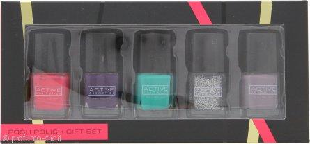 Active Cosmetics Posh Polish Confezione Regalo 5 x 7ml Smalti