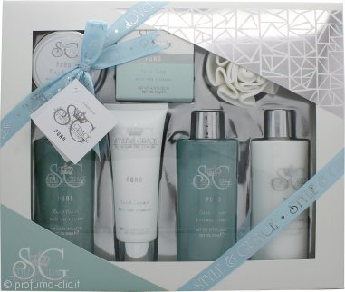 Style & Grace Puro Ultimate Bathing Treats Confezione Regalo - 7 Pezzi