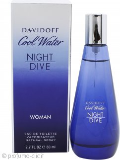 Davidoff Cool Water Night Dive Woman Eau de Toilette 80ml Spray