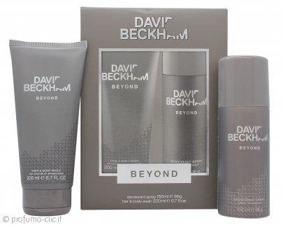 David & Victoria Beckham Beyond Confezione Regalo 40ml EDT + 150ml Deodorante Spray