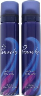 Taylor of London Panache Body Spray 2 x 75ml