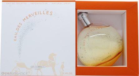 Hermes Eau Des Merveilles Eau de Toilette 100ml Spray