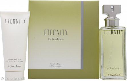 Calvin Klein Eternity Travel Confezione Regalo 100ml EDP + 100ml Lozione Corpo
