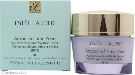 Estee Lauder Advanced Time Zone Age Reversing Crema Anti Rughe SPF15 50ml
