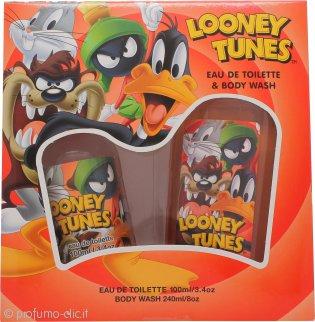 Looney Tunes Confezione Regalo 100ml EDT + 240ml Bagnoschiuma