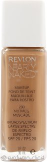 Revlon Nearly Naked Fondotinta SPF20 30ml - Nutmeg