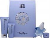 Thierry Mugler Angel Confezione Regalo 25ml EDP + 30ml Lozione per il Corpo + 30ml Gel Doccia