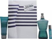 Jean Paul Gaultier Le Male Confezione Regalo 125ml EDT + 75ml Gel Doccia All-Over + 9ml Spray da Tasca