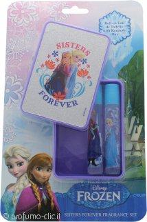 Disney Frozen Confezione Regalo 2 x 8ml EDT + Scatola Brillantinata per i Ricordi