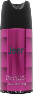 Jeer Deodorante Body Spray 150ml