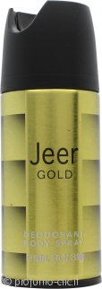 Jeer Gold Deodorante Body Spray 150ml