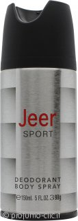 Jeer Sport Deodorante Body Spray 150ml