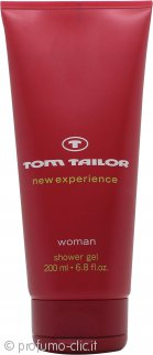 Tom Tailor New Experience Woman Bagnoschiuma & Gel Doccia 200ml