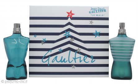 Jean Paul Gaultier Le Male Confezione Regalo 125ml EDT + 125ml Dopobarba Spray