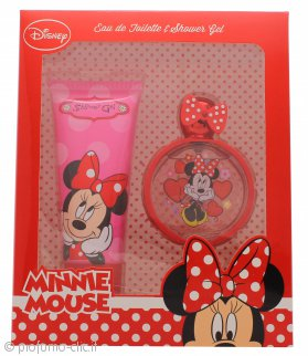 Disney Minnie Mouse Confezione Regalo 50ml EDT + 100ml Gel Doccia