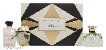 Bvlgari Mon Jasmin Noir Confezione Regalo 50ml EDP + 40ml Lozione Corpo + 15ml EDP