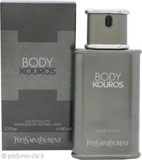 Yves Saint Laurent Body Kouros Eau de Toilette 100ml Spray