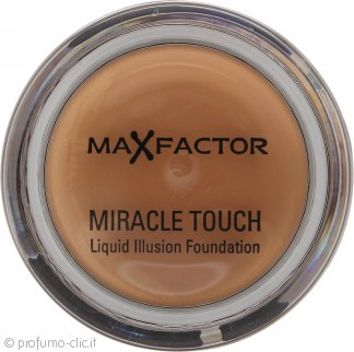 Max Factor Miracle Touch Liquid Illusion Foundation 85 (Caramel) 11.5g