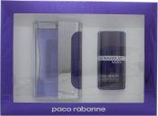 Paco Rabanne Ultraviolet Man Confezione Regalo 100ml EDT + 75ml Deodorante Stick