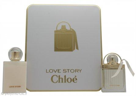 Chloé Love Story Confezione Regalo 50ml EDP + 100ml Lozione Corpo
