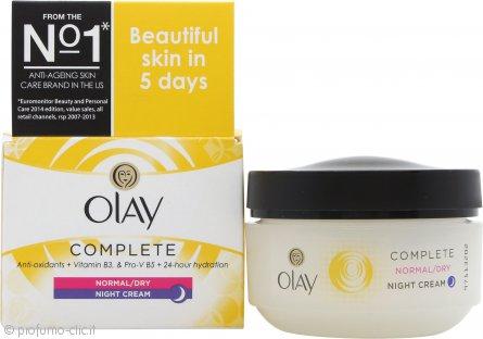 OLAY Complete Care Crema Notte 50ml Pelle Normale/Secca/Grassa
