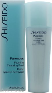 Shiseido Pureness Foaming Cleansing Fluid 150ml