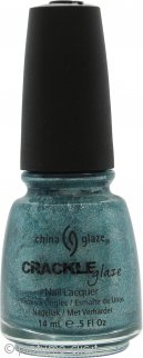 China Glaze Crackle Glaze Smalto 14ml - Oxidised Aqua 1047