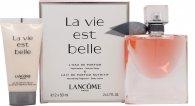 Lancome La Vie Est Belle L'Eau de Parfum Confezione Regalo 50ml EDP Spray + 50ml Lozione Corpo