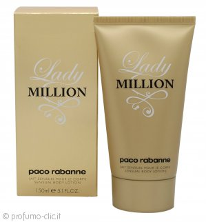 Paco Rabanne Lady Million Lozione per il Corpo 150ml