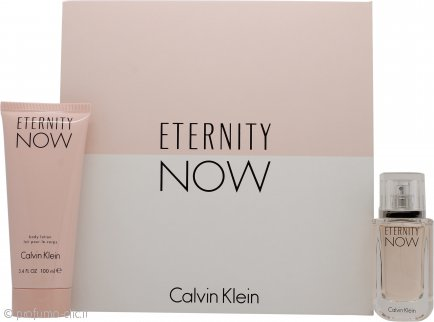 Calvin Klein Eternity Now For Her Confezione Regalo 30ml EDP Spray + 100ml Lozione Corpo