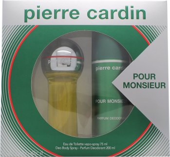 Pierre Cardin Pour Monsieur Confezione Regalo 75ml EDT + 200ml Deodorante Spray