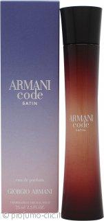 Giorgio Armani Armani Code Satin Eau de Parfum 75ml Spray