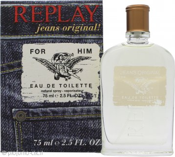 Replay Jeans Original for Him Eau de Toilette 75ml Spray