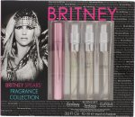 Britney Spears Fragrance Collection Confezione Regalo 10ml EDP Fantasy + 10ml EDP Midnight Fantasy + 10ml EDP Curious + 10ml EDP Radiance