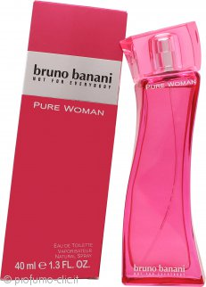 Bruno Banani Pure Woman Eau de Toilette 40ml Spray
