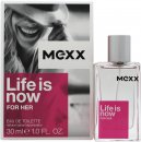 Mexx Life Is Now for Her Eau de Toilette 30ml Spray