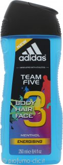 Adidas Team Five Gel Doccia 200ml - Edizone Limitata