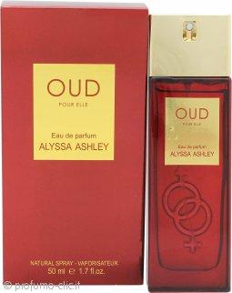 Alyssa Ashley Oud pour Elle Eau de Parfum 50ml Spray