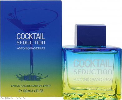 Antonio Banderas Cocktail Seduction Blue Eau de Toilette 100ml Spray