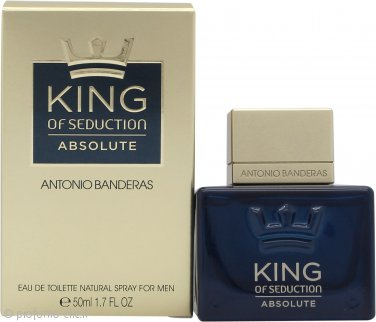Antonio Banderas King of Seduction Absolute Eau de Toilette 50ml Spray