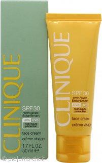 Clinique Sun Protection SPF30 Crema Viso con Solar Smart 50ml